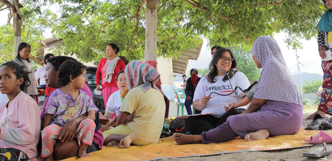 Alpha Omega Peduli bersama Humedica International masih di Sulawesi Tengah