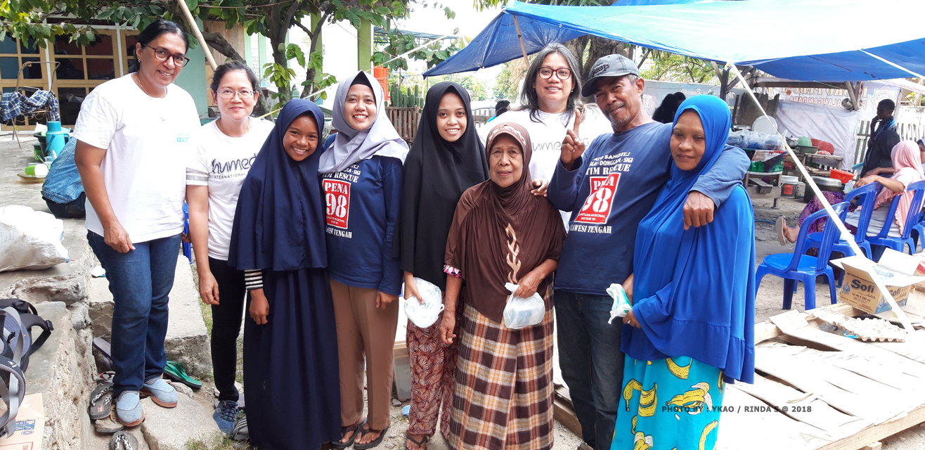 Cerita Bapak Rahmadi, korban bencana gempa bumi dan tsunami di Palu.